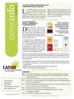 Le bulletin du Centre d'action contre la traite humaine interne et internationale.